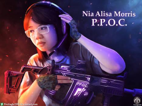 Nia Alisa Morris (Speedpaint)