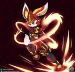 Cyber Shuuya [Commission] by FireEagle2015