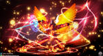 Techno Rizard [Commission] by FireEagle2015