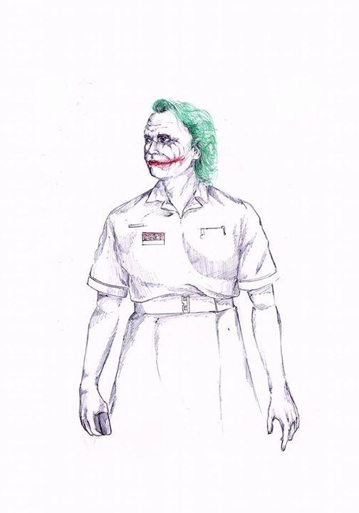 Nurse Joker by ryuukoelric