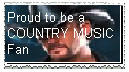 Country Music Stamp by artist--angelica