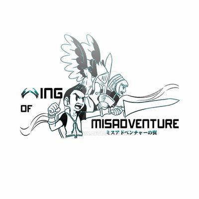 Logo - Wing of Misadventure by terabin