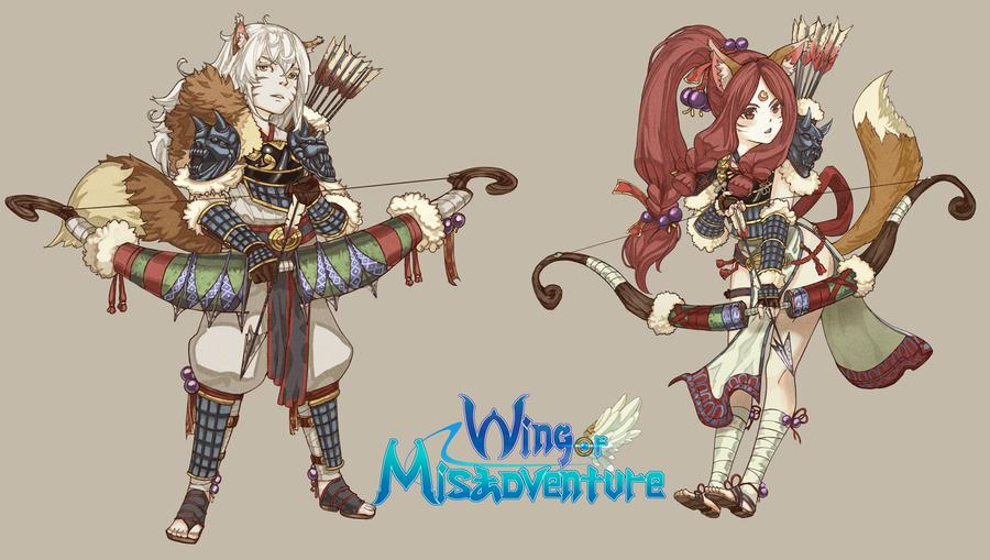 Wing of Misadventure - Arita - New Art! by terabin