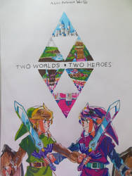 The Legend of Zelda: A link between Worlds by RhymeFox95