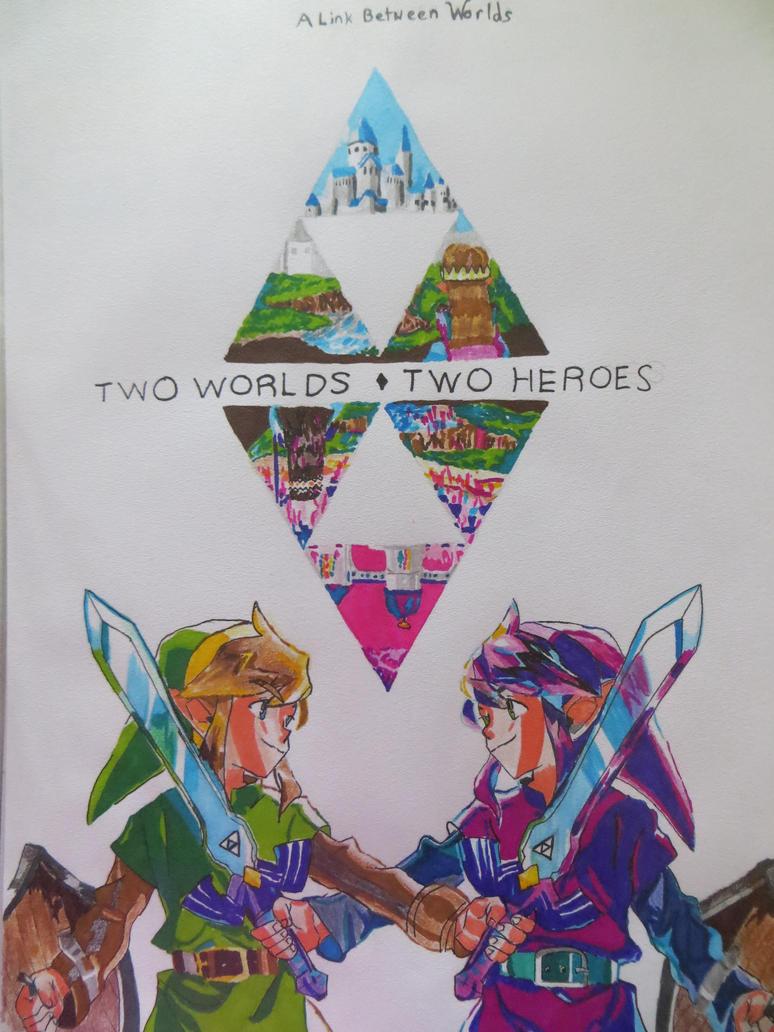 The Legend of Zelda: A link between Worlds by RhymeFox95