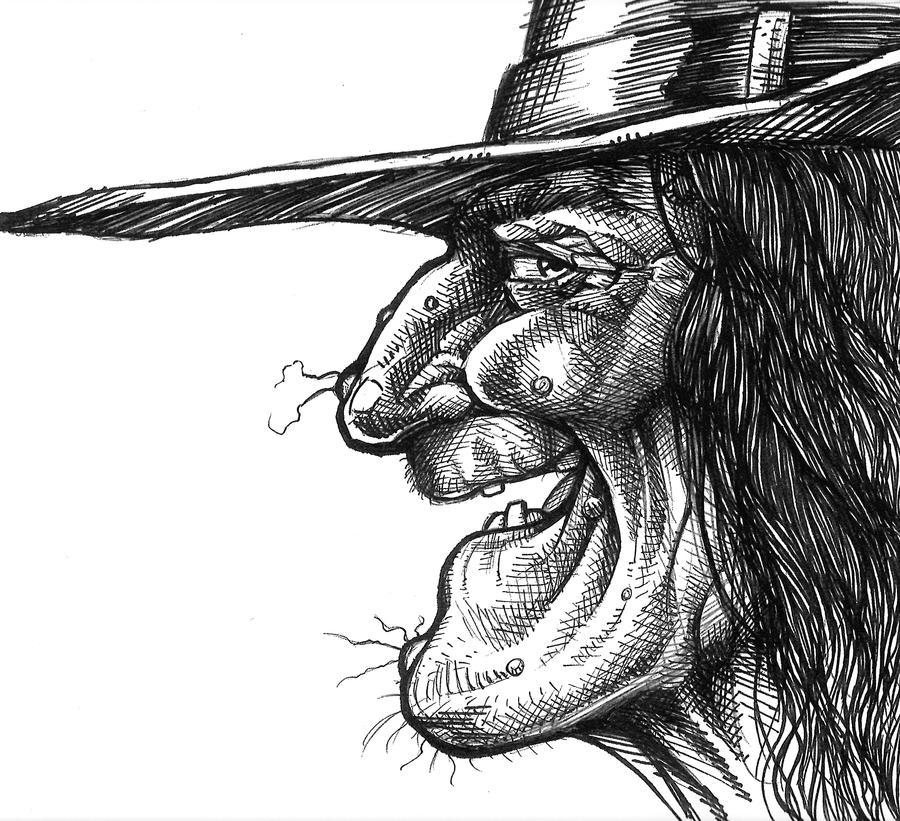 Halloween Witch face profile by scottepentzer on DeviantArt