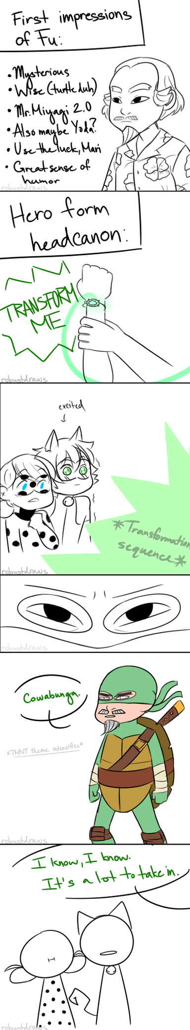 First Impressions by robustdraws