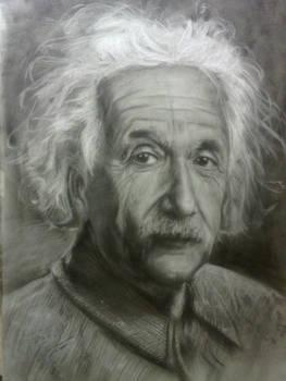 Albert Einstein Portrait