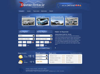 Davraz Rent A Car by Esintitasarim