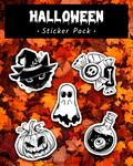 Halloween Sticker Pack (My shop is open!!) by Inknes