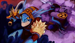 Slark vs Rikki by K1S3K