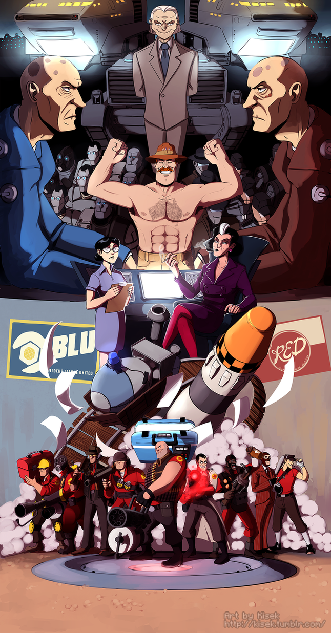 Team Fortress 2 by K1S3K