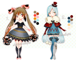 [CLOSED] ADOPT BATCH 1 by Apricot-adopts