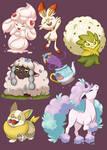 Pokemon SWSH - Favorite Mons