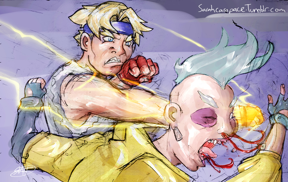Streets Of Rage Axel v Y.Signal by Vamore