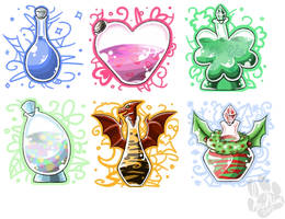 mystic.potions.items.2009 by InuMimi