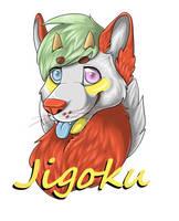 Jigoku Badge by InuMimi