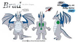 Brad the Dragon by InuMimi
