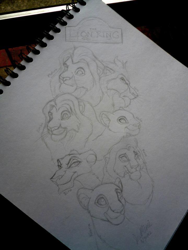 Lion King Tattoo Design By Inumimi On Deviantart