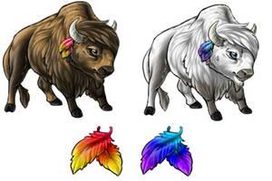 Tatanka Buffalo Pet by InuMimi