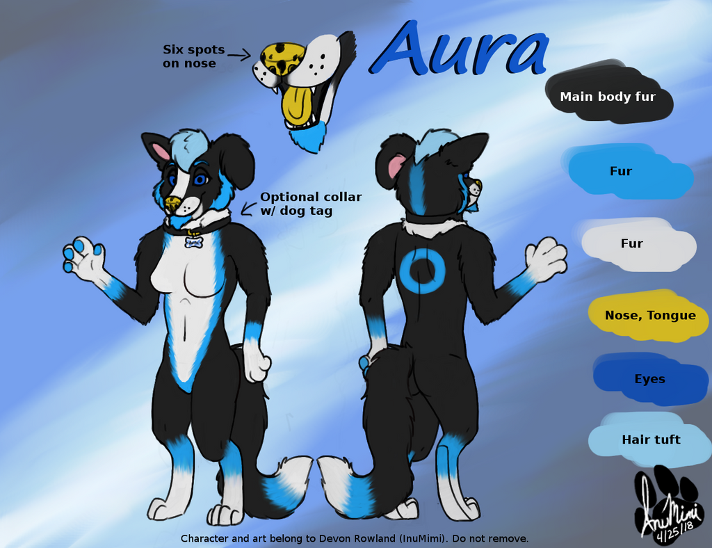 Aura Reference by InuMimi