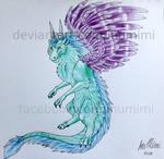 Furry Dragon by InuMimi