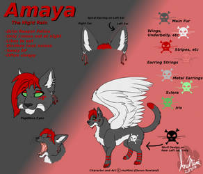 Amaya Ref Sheet by InuMimi