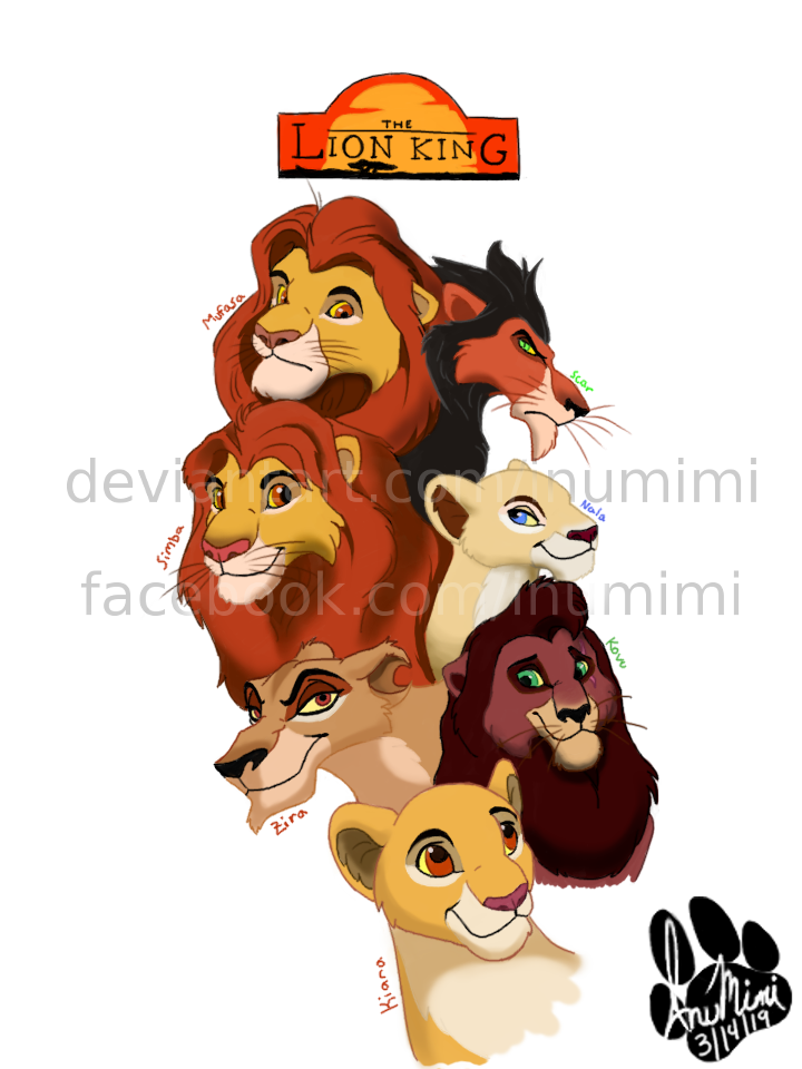 The Lion King by InuMimi