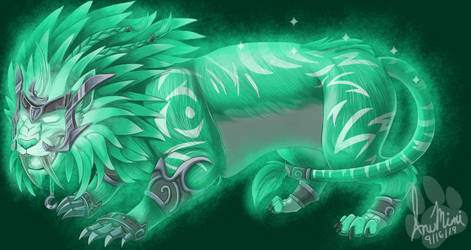 Ghost of the Pridemother: Green Druid