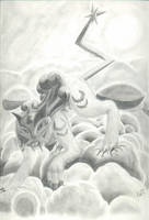 Raikou-God of Thunder by InuMimi