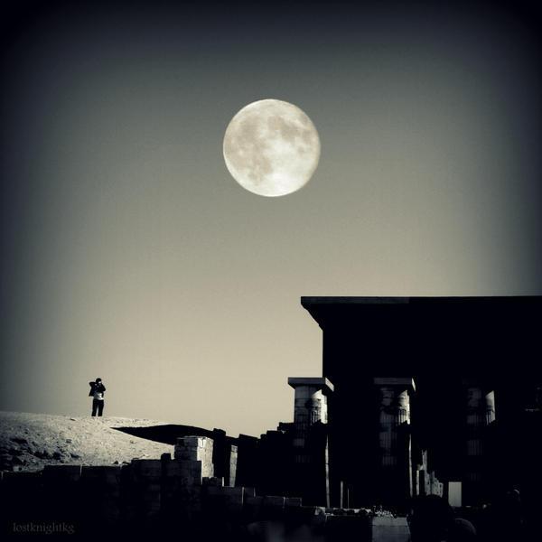 Djoser's Temple by lostknightkg