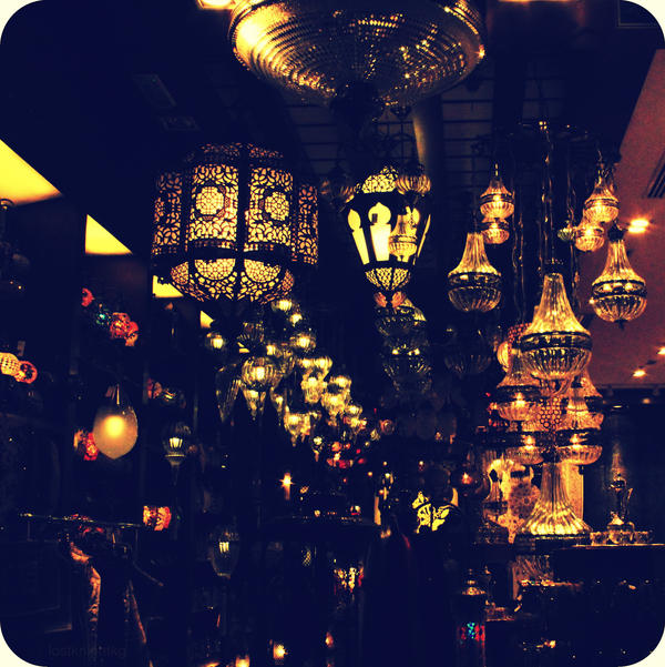 Souk Lamps IV by lostknightkg