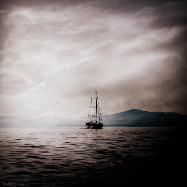 At sea by lostknightkg