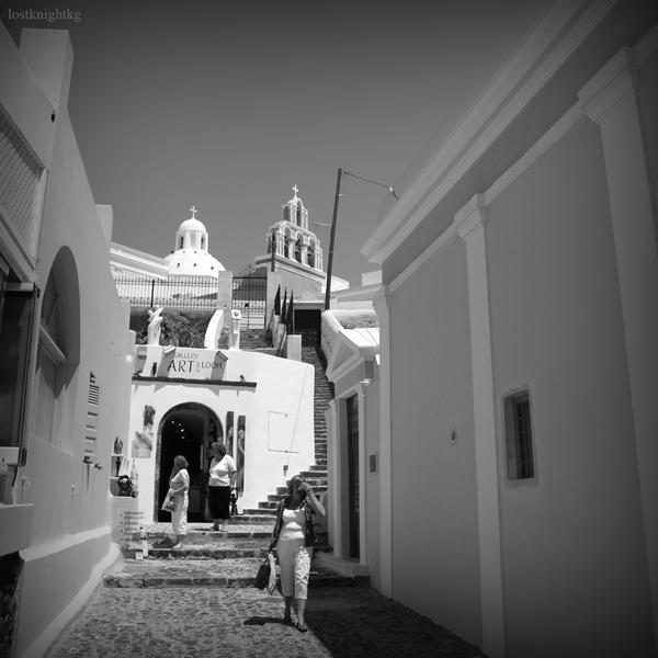 Santorini life II by lostknightkg