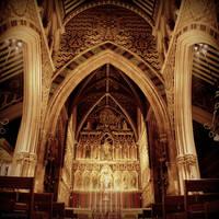 All Saints Altar by lostknightkg