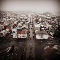 Reykjavik city by lostknightkg