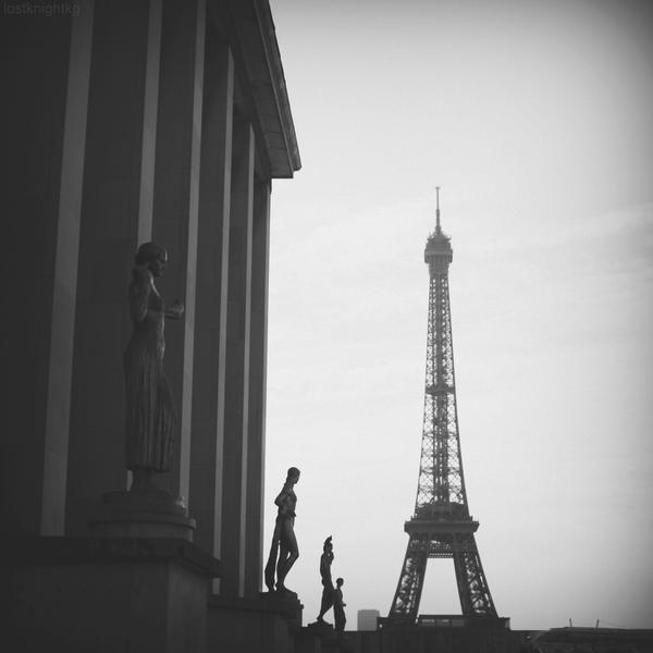 Paris Icons by lostknightkg
