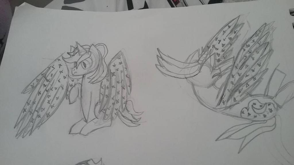 Twiluna sketches by animefreak120