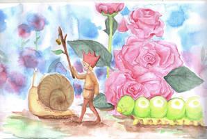Rose Garden by StrawOnABerry