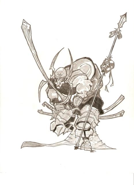 Bad Ass Warrior 66