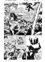 FANTASTIC FORCE 11 pg.20 pencils by PinoRinaldi