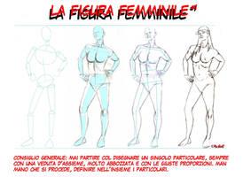 The female figure 1 by PinoRinaldi
