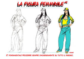 The female figure 2 by PinoRinaldi