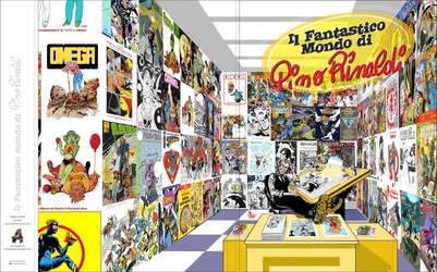 Il Fantastico Mondo di Pino Rinaldi- cover 10 pin by PinoRinaldi