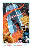 The Amazing Spiderman 1 Anniversary cover by PinoRinaldi