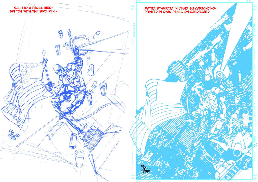 1-Tutorial- Cover-sketch and pencil by PinoRinaldi