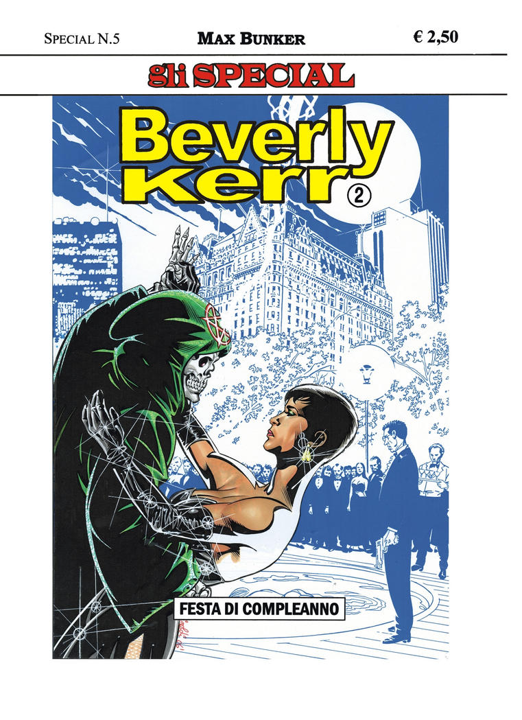 Beverly Kerr 2- cover- color by PinoRinaldi