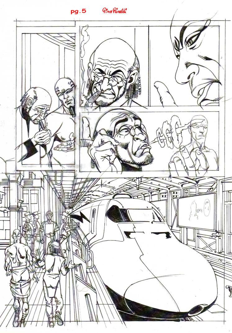 K-Pag.1-Sketch by PinoRinaldi