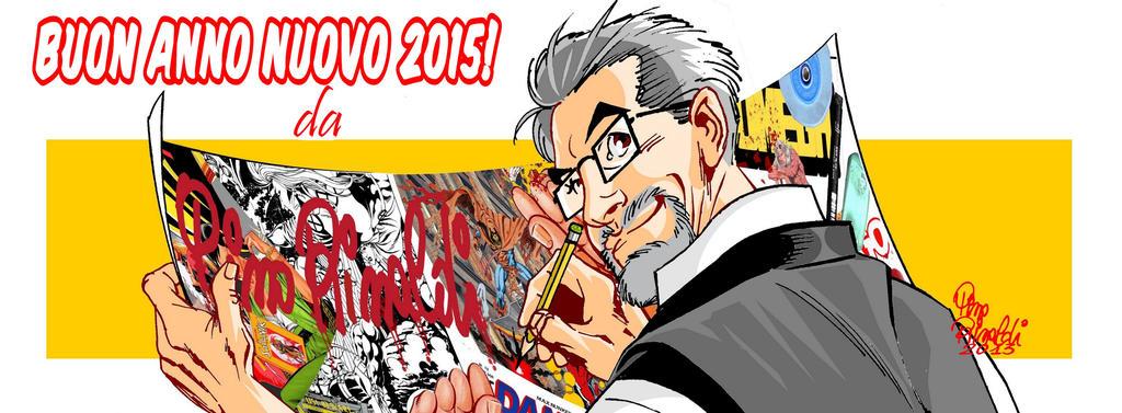 Happy New Year 2015. by PinoRinaldi