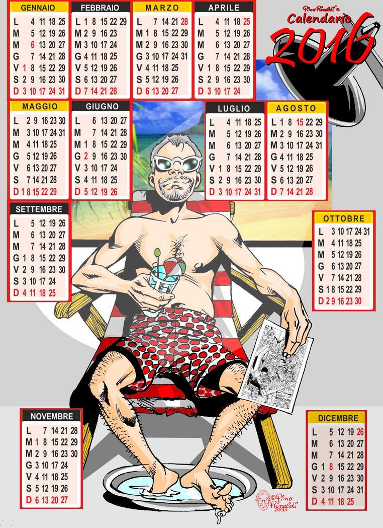 Pini Rinaldi's calendar 2016 by PinoRinaldi